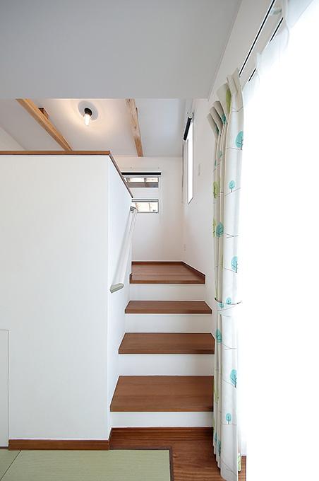 和室からの階段