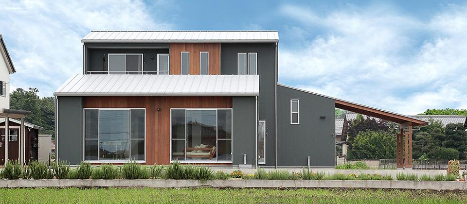 自然素材を豊富に使ったナチュラル&モダンな家 / S-HOUSE