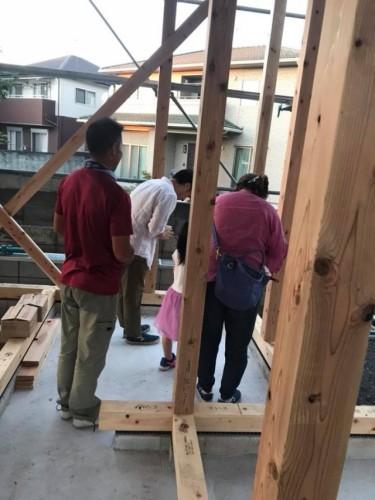 新築住宅上棟式